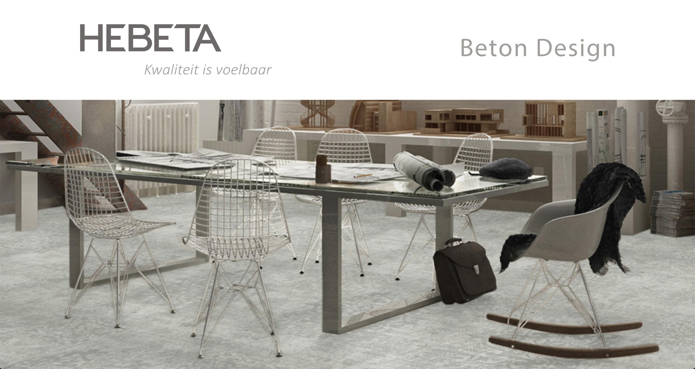 Bekijk de Hebeta beton design karpetten